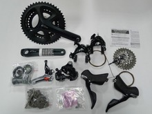 shimano 105 5800 road bike groupset 5800 11s groupset Road bicycle group 170/172.5mm Groupset(China)