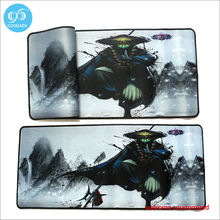 Custom game mouse pad or custom rubber door mat thermal transfer printing rubber door mat