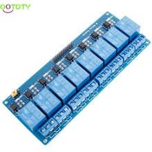 8 Channel 5V Relay Shield Module Board Optocoupler module for ARM AVR 828 Promotion(China)