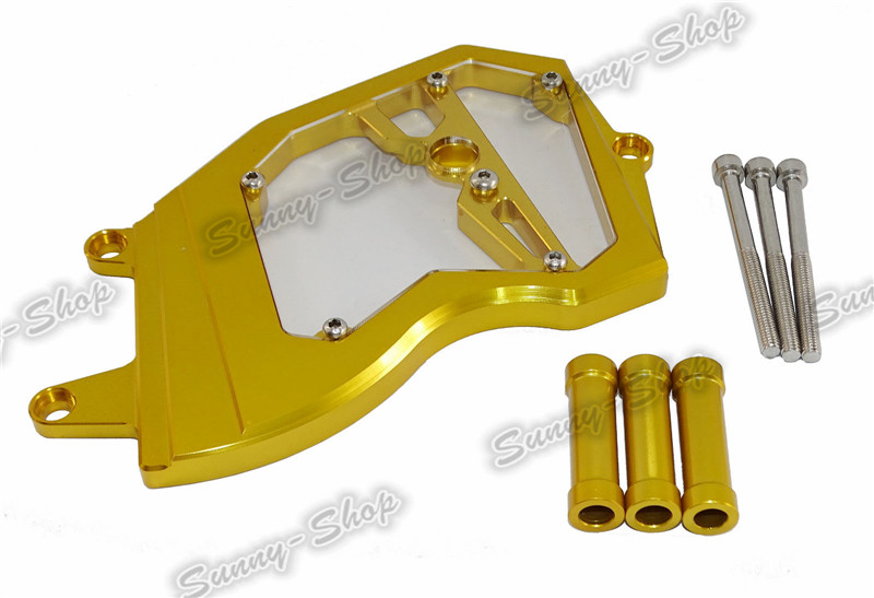 Front Sprocket Cover for KAWASAKI ZX6R 2006-2014 Gold B