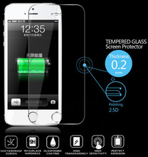 Premium Ultra Slim Tempered Glass Screen Protector For iPhone 5 5C 5S Screen Protector Film 2.5D 9H Explosion-proof