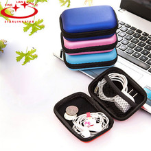 1Pc 2016 Square Earphones Package Box Headset Bluetooth Data Line Headphone Portable Storage Bag USD SD Card Protective Box