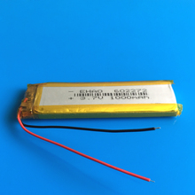3.7V 1000mAh lithium polymer rechargeable Lipo battery 602272 replace for bluetooth GPS wired microphone audio computer(China)