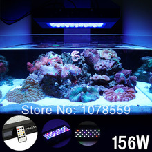 New Dimmable led aquarium light 156W smart dimming system similar sunrise and sunset light moonlight design Bridgelux Rayal