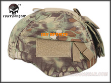 MICH Helmet Cover for MICH 2000 With Accessory Pouch In Kryptek Mandrake+Free shipping(SKU12050312)(China)