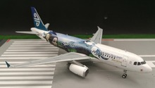 JW 1: 200 Air New Zealand Airbus A320 aircraft model alloy Limited Collector Model