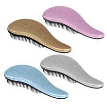 Plastic Magic Handle Detangling Tangle Comb Hair Styling Salon Tamer Handle Massager Hot Cute Useful Small Fashion 2017 New