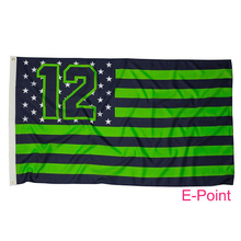 Seattle Seahawks 3*5ft (90cm*150cm) Polyester flag Banner(China)
