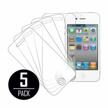 5PCS For Apple iPhone 4/4S protection ecran High Defintion Clear Screen Protectors For screenprotector pantalla iphone 4 4S 4G S