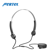 FERTEL Bone Conduction Headphone Hearing Aid Care Best Sound Amplifier Hearing Aids for People with Hearing Impairment 801