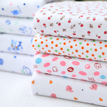Fabric Knitted COTTON  For BABY Diapers CLOTHES BEDDING sewing accessories diy