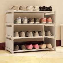 2017 new shoe rack DIY simple Home Furnishing multilayer non-woven fabric(China)