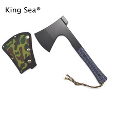 New Handle Top Quality Outdoor Survival Axe Multi Tomahawk Army Utility EDC Camping Axe Mountain-cutting Hatchet(China)