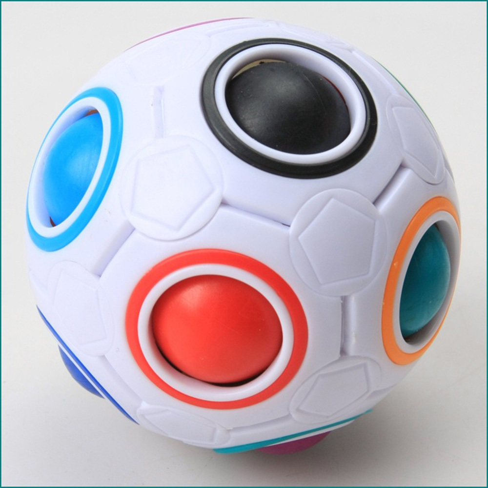 Magic Rainbow Ball Antistress Fun Toy Children Educational Fidget Toys Best Gift Puzzle Ball