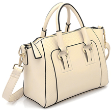 Women's Shoulder Bag in imitation leather Satchel Cross Body Tote Bag(China)