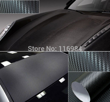 Buy 30CM x 1.27Meter BLACK CARBON FIBER VINYL AUTO CAR WRAP sheet roll film sticker decal for $3.39 in AliExpress store