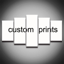 5 Pcs Custom prints Your Photo,Family or Baby Picture,Favorite Image Custom Print on Canvas Home Decor Unique New Year Gift Hot