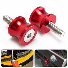 for ducati monster 821 motorcycle swingarm spools Screw slider for yamaha mt09 mt-09 mt 09 03 01 tmax 500 530 yzf r1 r3 r6 fz6(China)