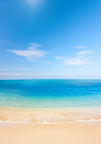 5x7ft (1.5x2.2m) seaside beach blue sky clean sand beach sea water printed vinyl photography background backdrop D-3625<br><br>Aliexpress