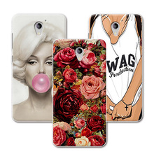 "ZTE A510 Painted Grid Style Phone Cases ZTE BA510 Blade A510 510 5.0"" Cover Funda ZTE Blade A510+Free Gift"