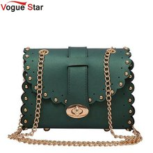 Vogue Star Mini Women Messenger Bags Pu leather Women Shoulder Bag Ladies Small Clutches Chain Women Crossbody Bags Tote LB198(China)