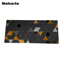 Babaite Mouse pad For Steelseries mouse Triangle wallpaper Extended large gaming Mouse pad for keyboard and mouse 900*400mm