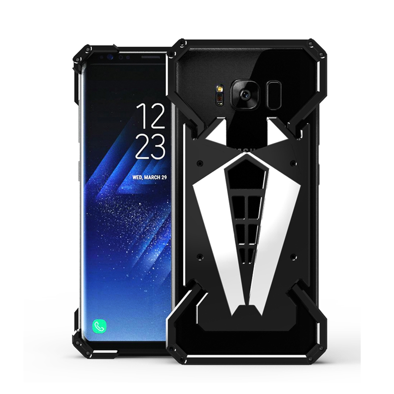 Fashion Spiderman Outdoor Aluminum Metal Shockproof Frame Bumper Case For Samsung Galaxy S8 Metal Case Cover(China (Mainland))