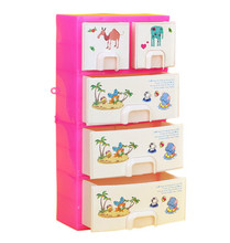 Doll Accessories Baby Toys New Printing Closet Wardrobe Cabinet For Barbie Doll Girls Princess Bedroom Furniture Accessory(China)