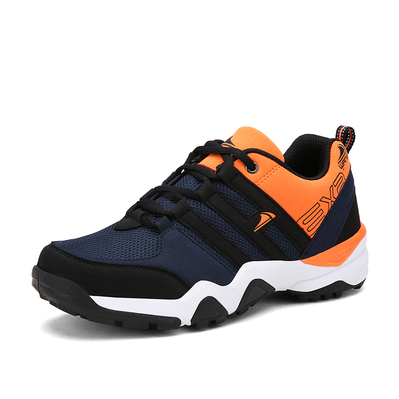 2016 Running Shoes Men Blue Black Athletic Sneaker Mens Sports Shoes Running Footwear Autumn Mens Gym Sneakers  Runner Shoe Male<br>