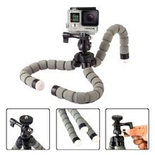 Universal Octopus Spider Flexible Desktop Tripod DSLR Camera DV Stand Mini Adjustable Tripod for GoPro Camera Smartphone(China)