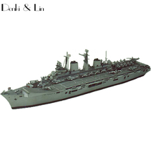 1:400 3D 52 Cm England Invincible Class Aircraft Carrier Paper Model Assemble Hand Work Puzzle Game DIY Kids Toy Denki & Lin