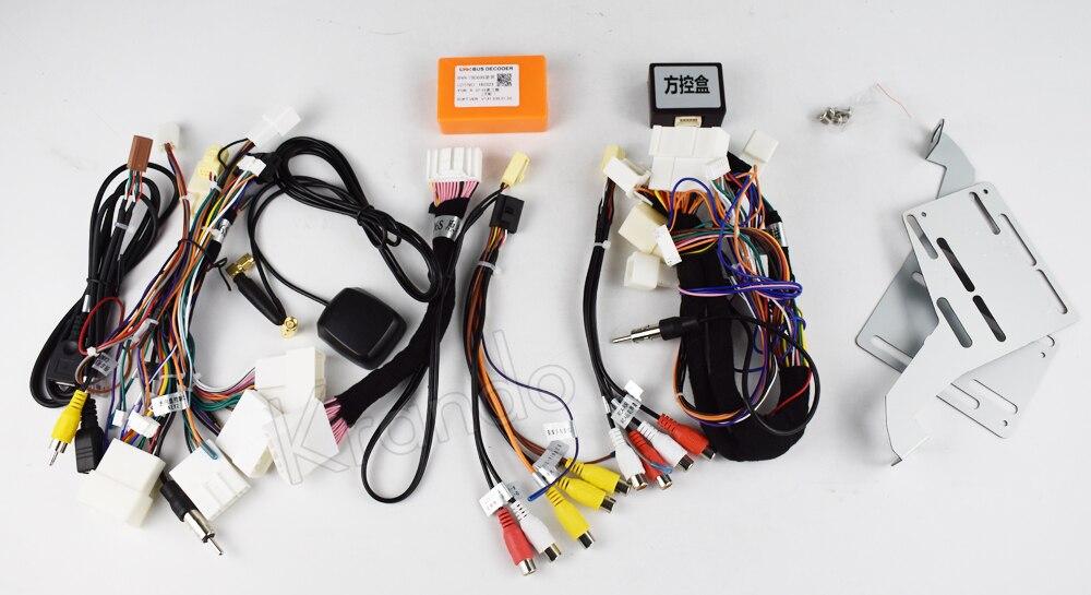 Krando android car radio stereo navigation gps for toyota land cruiser 200 2008-2015 car dvd player multimedia system (1)