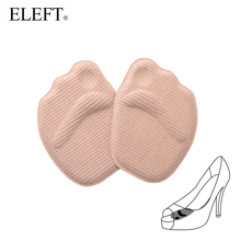 ELEFT 4D Sponge forefoot arch support Ball Foot pad pads insoles inserts shoes woman brand socks high heels shoes accessories(China)