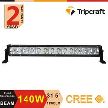 31.5 INCH 140W LED WORK LIGHT BAR COMBO BEAM LED DRIVING LIGHT FOR OFFROAD ATV 4x4 TRUCK SECKILL RAMP LAMP WITH CE