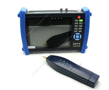 "Blueskysea 7"" CCTV Security Camera Tester Monitor Analog HDMI VGA Cable Scan HVT-3600 Zoom"