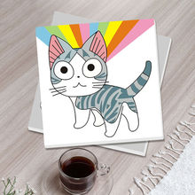 diy oil painting Chi's Sweet Home coloring by numbers  Japan anime cute cat drawing practice for kids diy digital painting