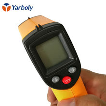 Digital GM320 Laser LCD Display Non-Contact IR Infrared Thermometer -50 to 380 C Auto Temperature Meter Sensor Gun Point(China)