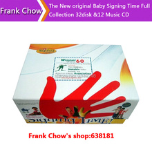 Free shipping New sealed packaging The Baby Signing Time Full Collection 32disk &12 Music CDs
