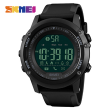 SKMEI Fashion Smart Watch Men Pedometer Waterproof Digital Wristwatches Remote Camera Calorie Bluetooth Watch Relogio Masculino(China)