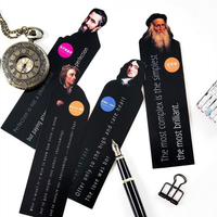 Novelty Celebrity Series Paper Bookmarks School Student Notebook Index Signature Stationery Cute Lovely Bookmark