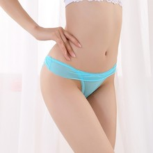 Buy Sexy Women Solid Color Lace Panties Soft Breathing Briefs Underwear Lace Bow knot Knickers Thongs 2018 New Arrivals