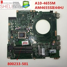800233-501 for HP 17 17-F Laptop Motherboard A10-4655M DAY23AMB6F0 working perfectly SHELI stock No.075(China)