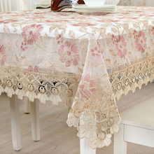 1 Piece Korean Lace Table Cloth Household Table Runner/ Fashion Lace Tea Table Cloth/ European Rural Home  decorate tablecloth