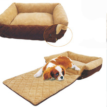 1pcs Multifunctional Pet Dog Bed Warm Soft Small Bed Cushion Puppy Sofa Couch Mat Kennel Pad Furniture New Arrival 55*36*18cm
