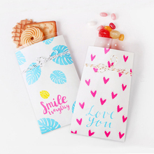 Party favor bag Sets / Smile Everyday / Paper Bags / gift bags/ bridesmaid bags 50pcs/lot(China)