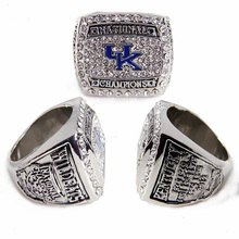 2012 SEC UK Wildcats National Champions Basketball Championship Ring Alloy Ring Collection for men ring(China)