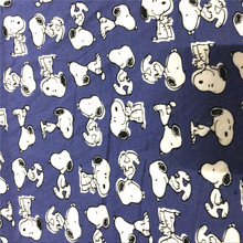 145X100cm Japanese cartoon Elasticity Knitted Cotton Fabric For Sewing diy Patchwork Girl Baby Clothes Textile Clothing