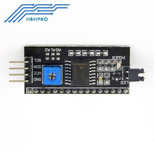 Buy 50PCS IIC/I2C/TWI/SPI Serial Interface adapter Board Module 1602 2004 LCD Display Arduino Fatory SALE for $65.00 in AliExpress store