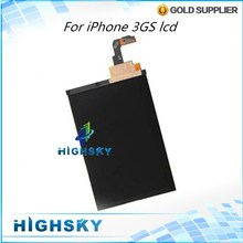 High Quality Replacement Part For iPhone 3GS LCD Screen Display Tested One by One  1 Piece Free Shipping