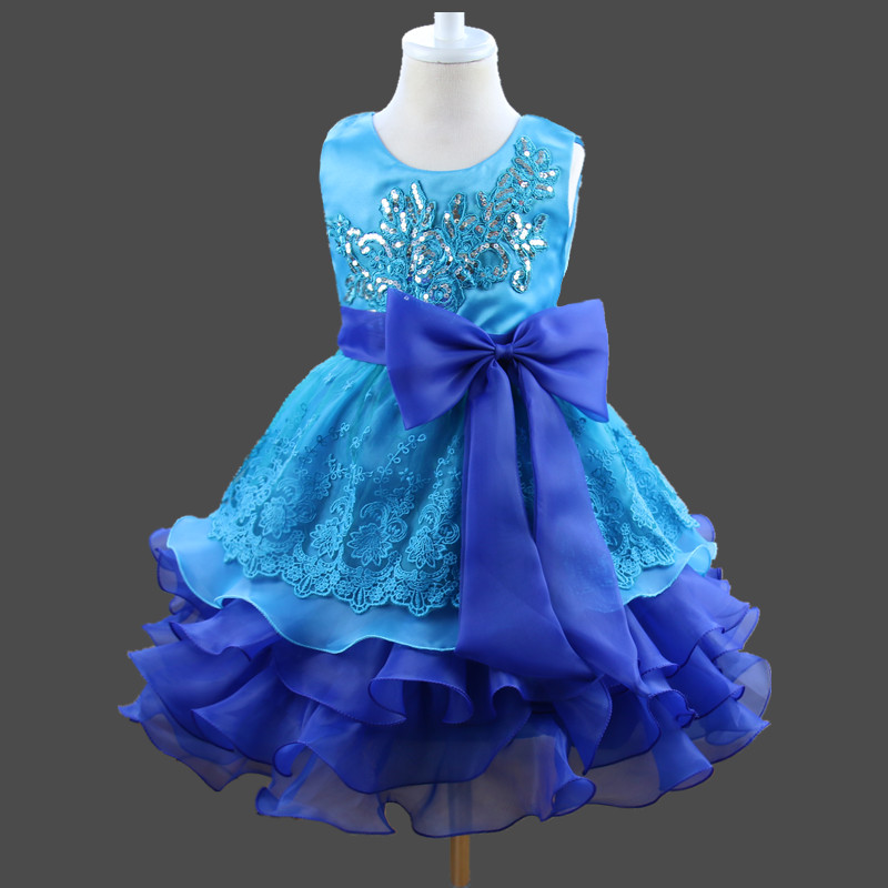 2017 Summer dresses for girl kids clothes childrens princess dress costume girls wedding evening dress lace baby girls 939<br>
